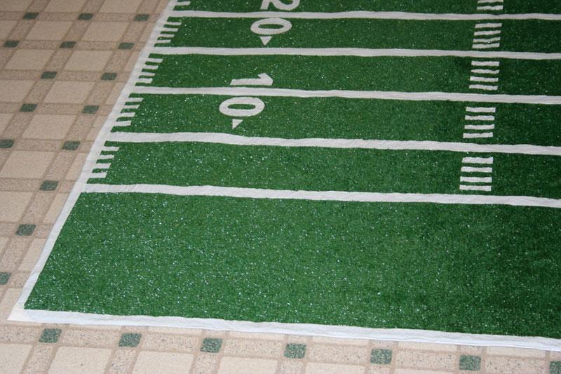 Diy Football Field Rug