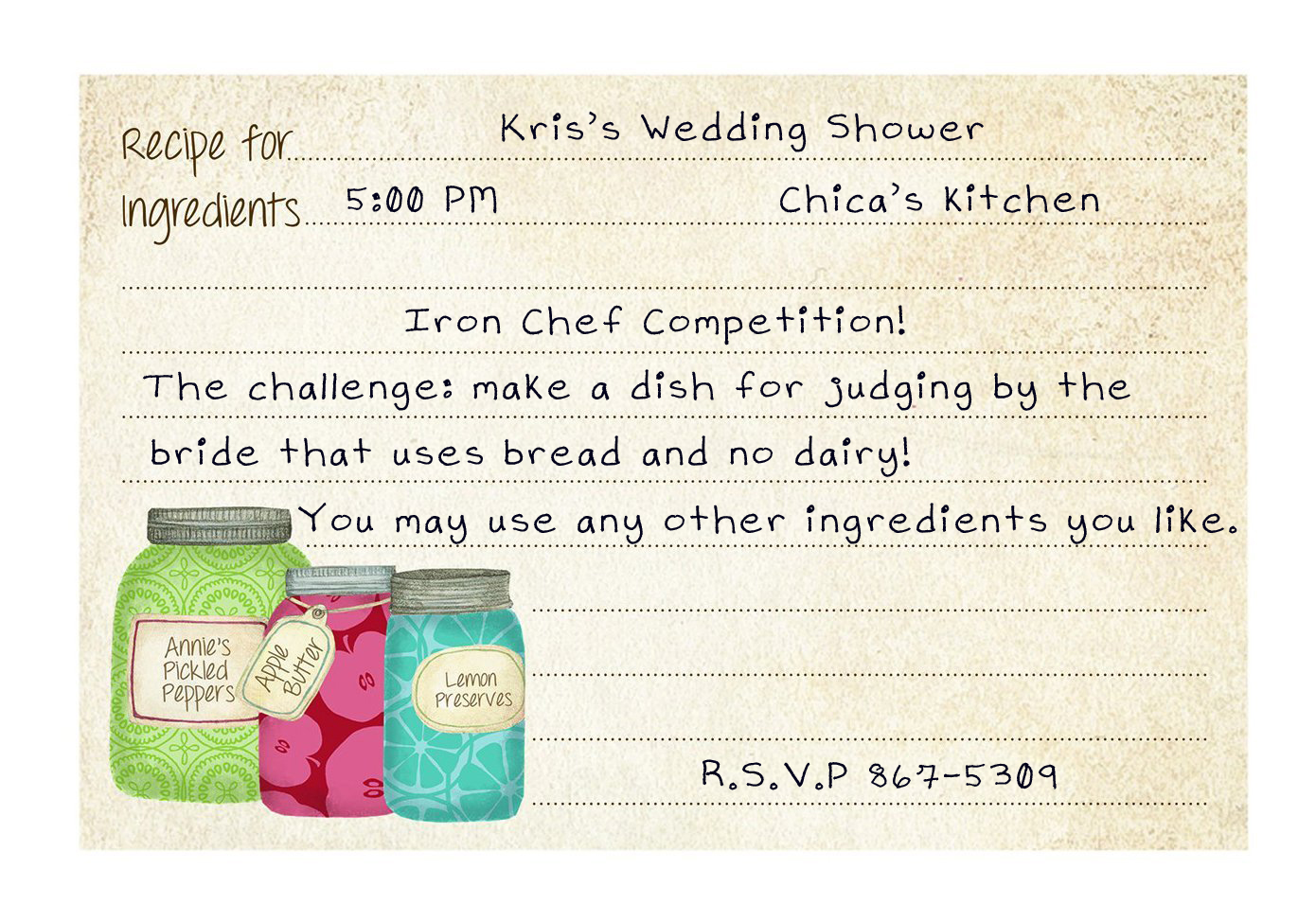 Hosting a cooking themed bridal shower for the foodie bride | Chica ...