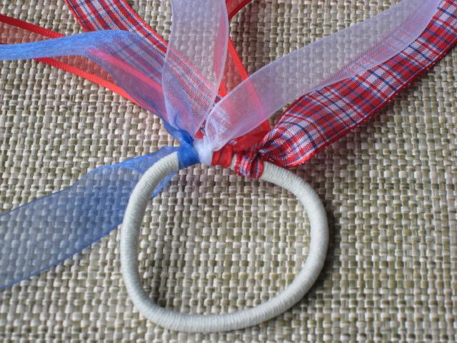 ribbon ponytail holders