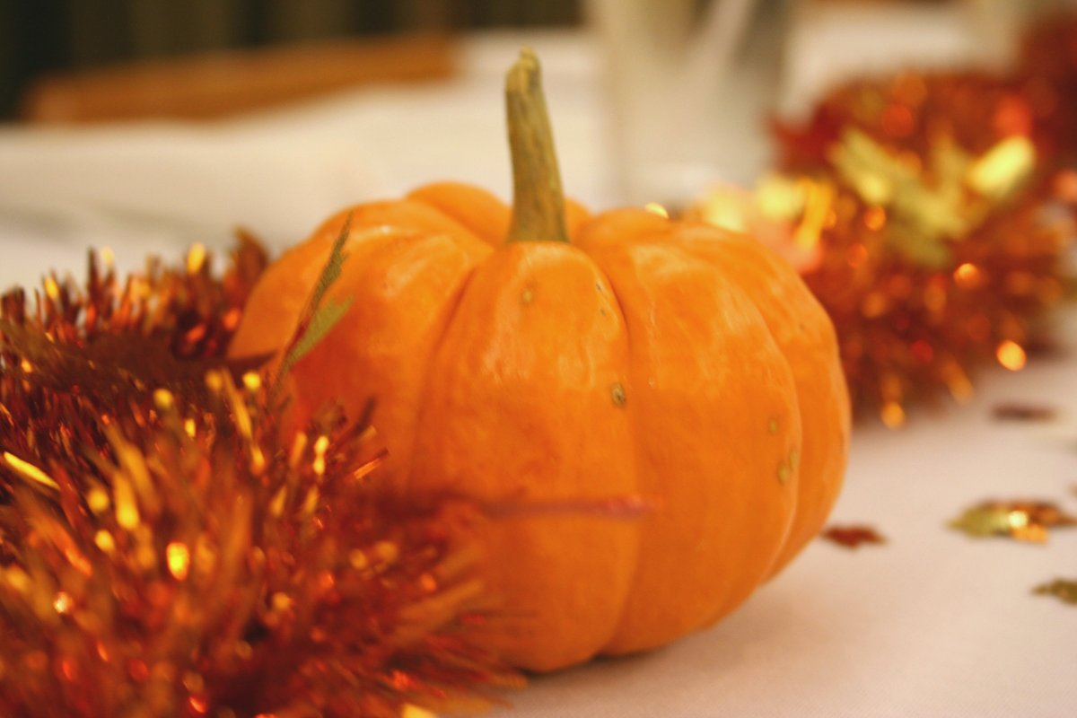 beautiful pumpkin wedding decorations