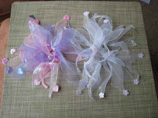 Make Ribbon Embellished Hair Elastic Bows Chica And Jo