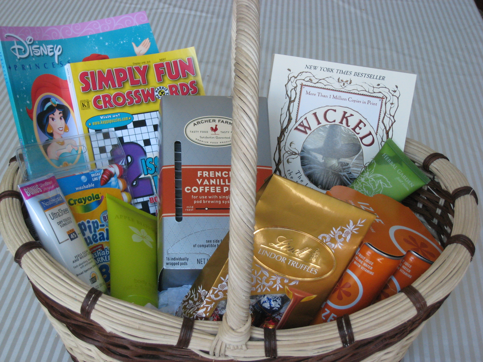 Wedding Gift Basket Ideas For Out Of Town Guests : Hotel baskets for out-of-town guests Chica and Jo
