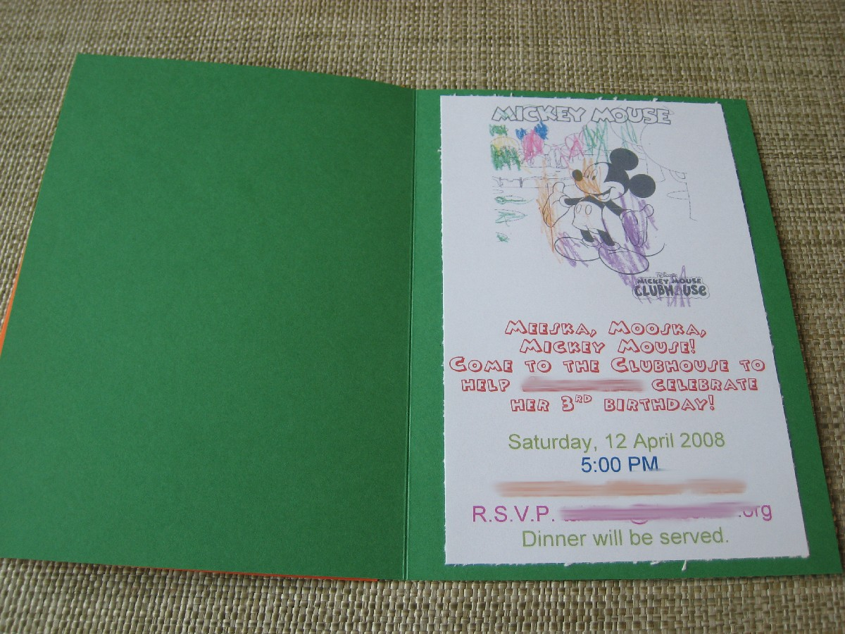 here is the template for your use mickey mouse invitation template
