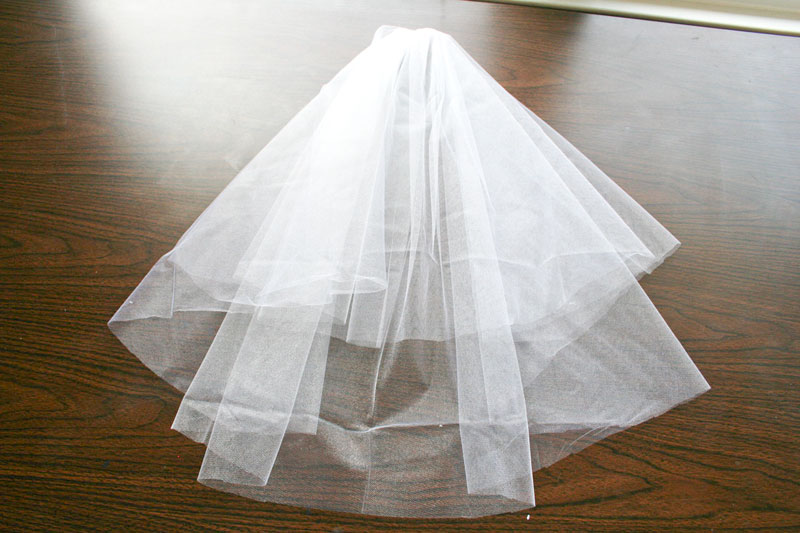 Hold The Tulle By Gathered Area And Give It A Gentle Shake Which Will Allow Sides To Fall Gracefully Down With Rest Of
