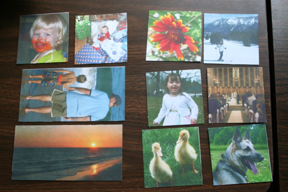 """Create """"magic"""" folding wooden photo cubes 