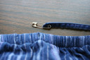 Use safety pin to replace drawstring