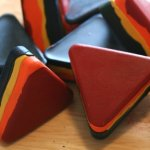 Recycle broken crayons into fun new shapes