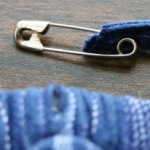 Quick Tip – Use a safety pin to thread a drawstring