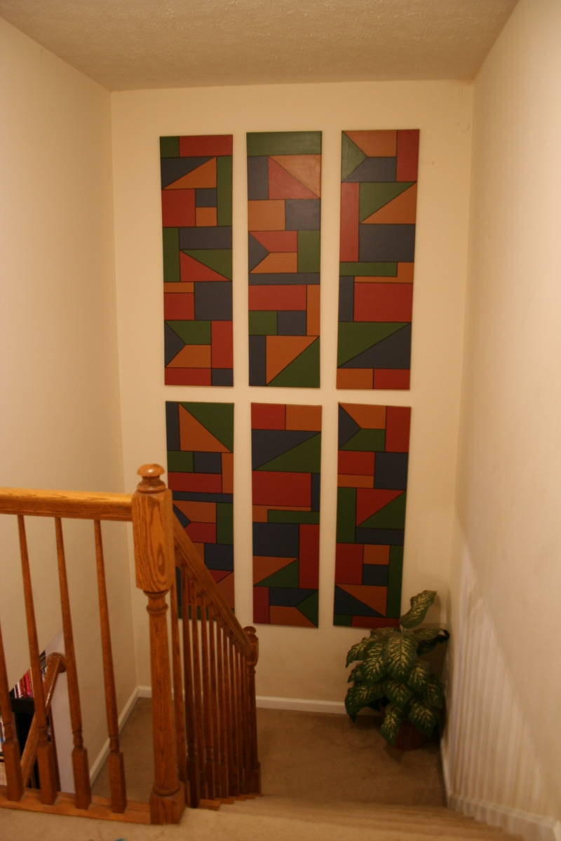 Decorate An Empty Stairway Wall With Custom Art