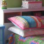 Brightly colored toddler's bedroom