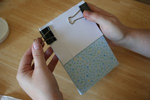 make your own notepad