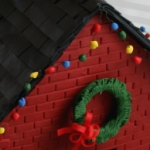Make an advent calendar house from polymer clay