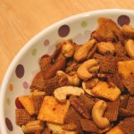 bold and spicy Chex mix recipe