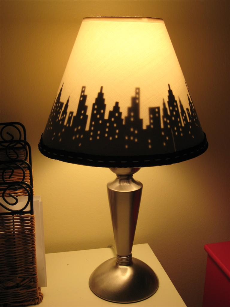 Create a custom lamp shade with your cricut Home decorators lamp shades