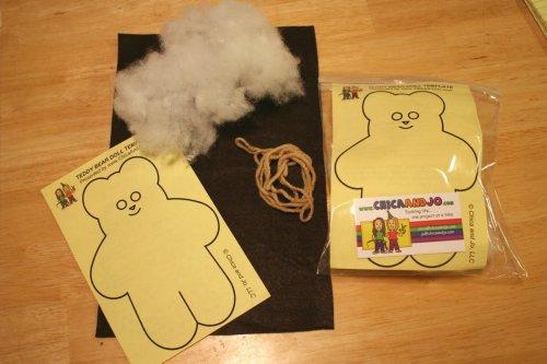 Teddy bear making craft for kids