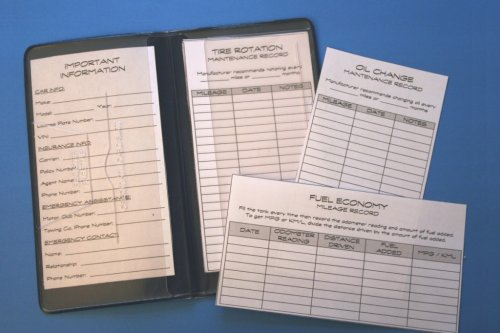 Track and organize your car maintenance records