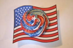 Fourth of July Cupcake Collars