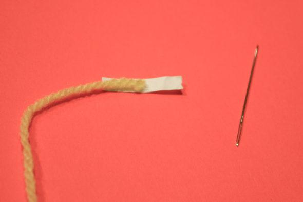 how to get a thread through a needle