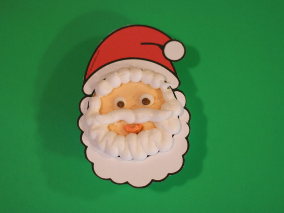 Displaying 16> Images For - Santa Claus Face Template...