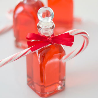 Candy cane syrup