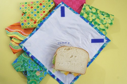 fused plastic sandwich wraps