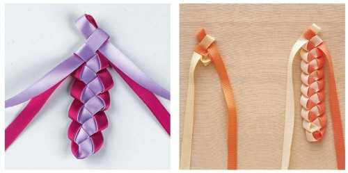 Ribbon Crafts idea book
