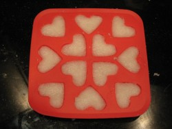 Pressed Sugar Hearts