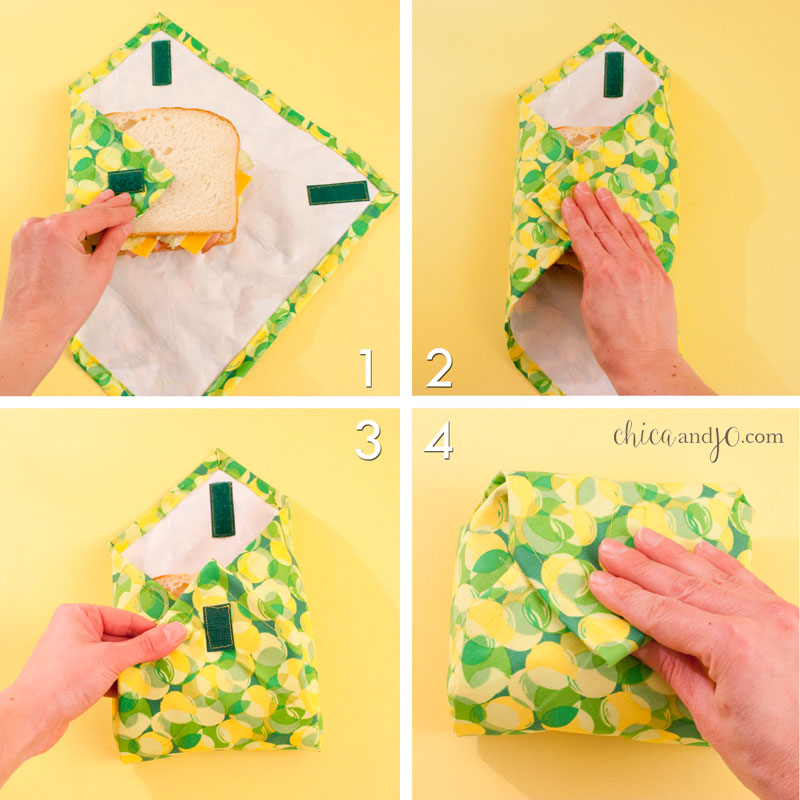 Fold the right corner in, pulling tight, and secure with the Velcro. Fold  the bottom corner up. Fold the top corner down, tightly, and secure with  the ... 22903345f2