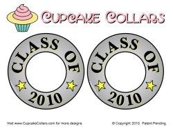 Cupcake Collar graduation cupcakes Class of 2010