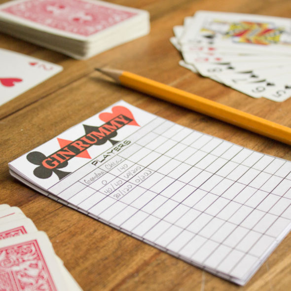 Printable Gin Rummy Score Sheet Chica And Jo