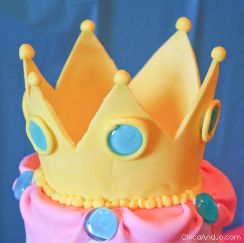Tremendous Princess Peach Birthday Cake Chica And Jo Personalised Birthday Cards Veneteletsinfo