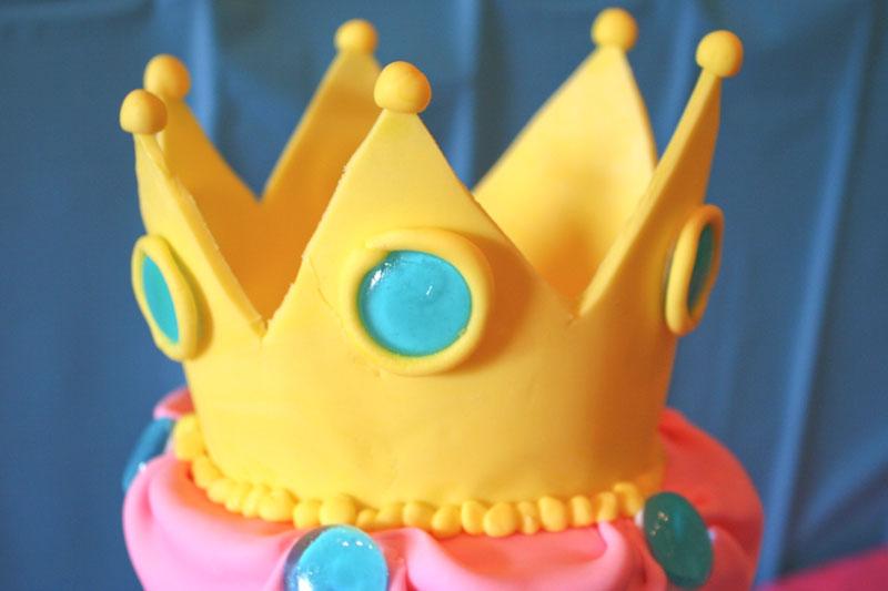 Princess Peach Birthday Cake Chica And Jo