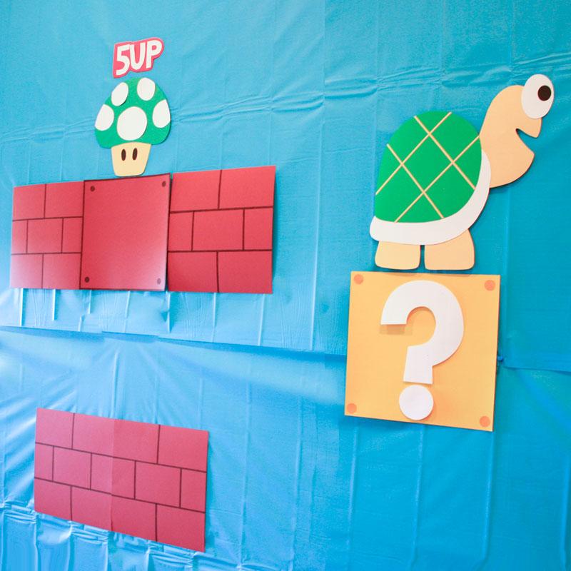Super Mario Birthday Party Featuring Princess Peach