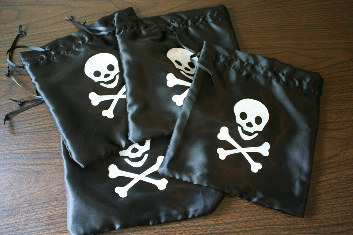 Pirate party favors   Chica and Jo