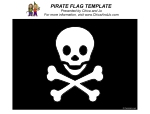 pirate jolly roger flag template