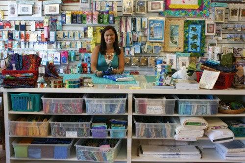 Three Crafty Ladies craft store in Sanibel