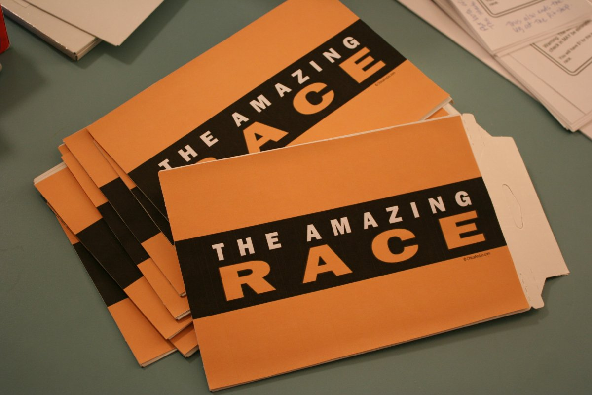 The amazing race party printables party invitations ideas for The amazing race clue template
