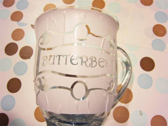 butterbeer logo mugs