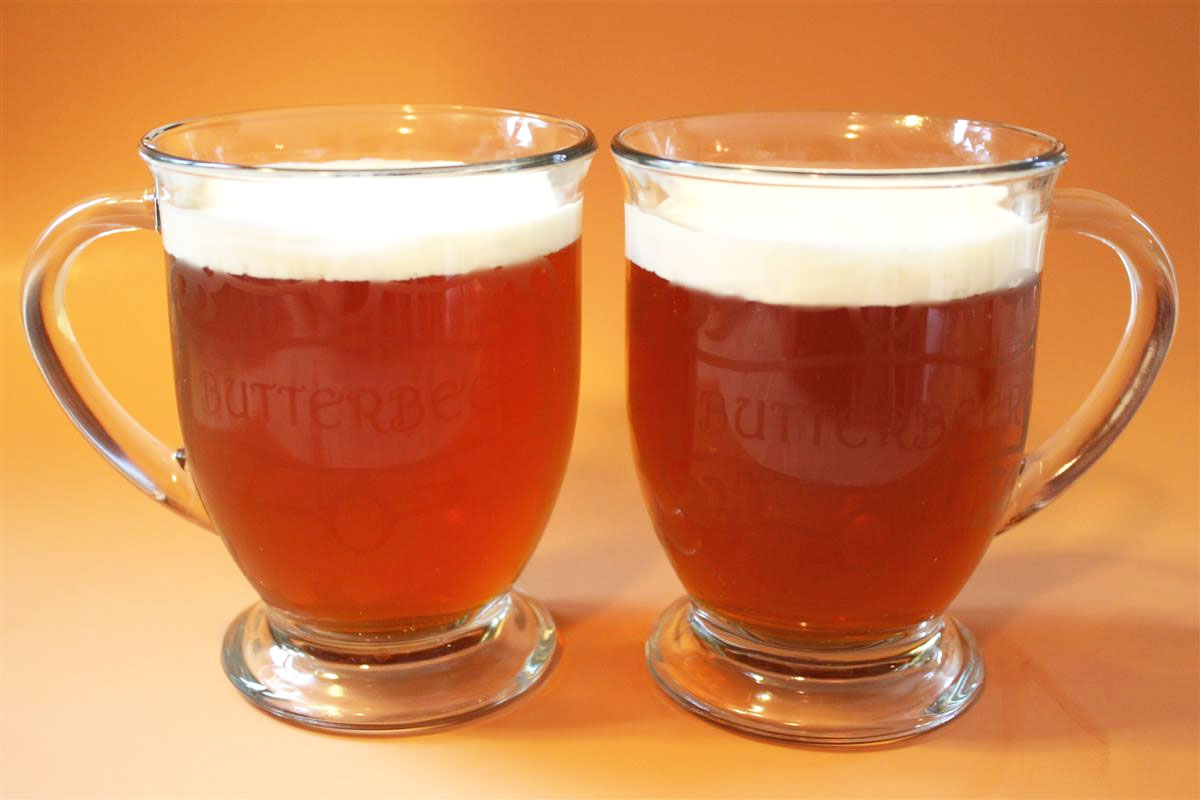 butterbeer recipe and diy butterbeer mugs chica and jo
