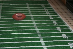 giant football field rug