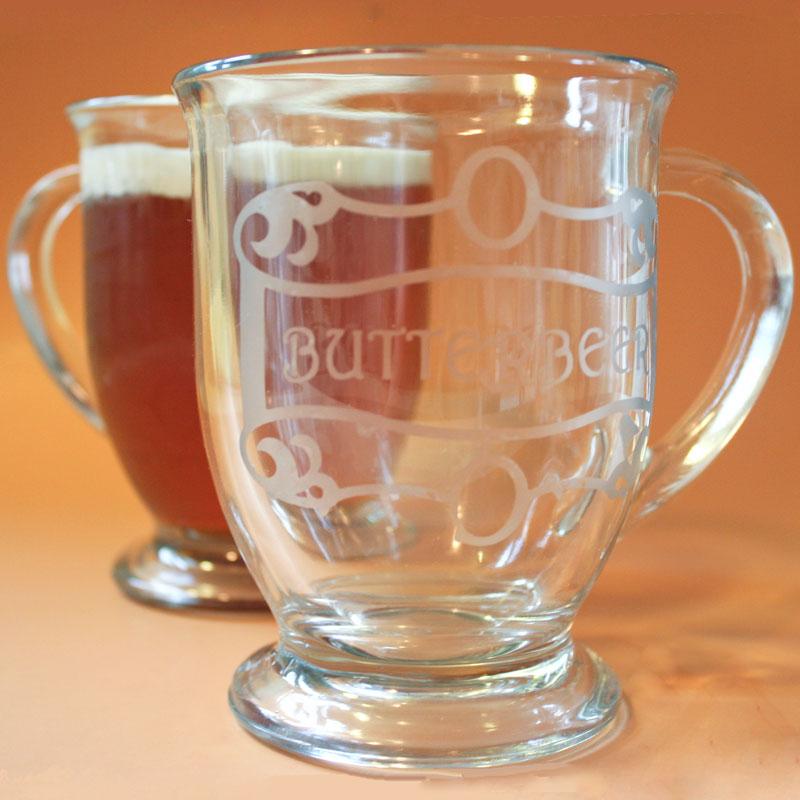 Butterbeer recipe and DIY Butterbeer mugs