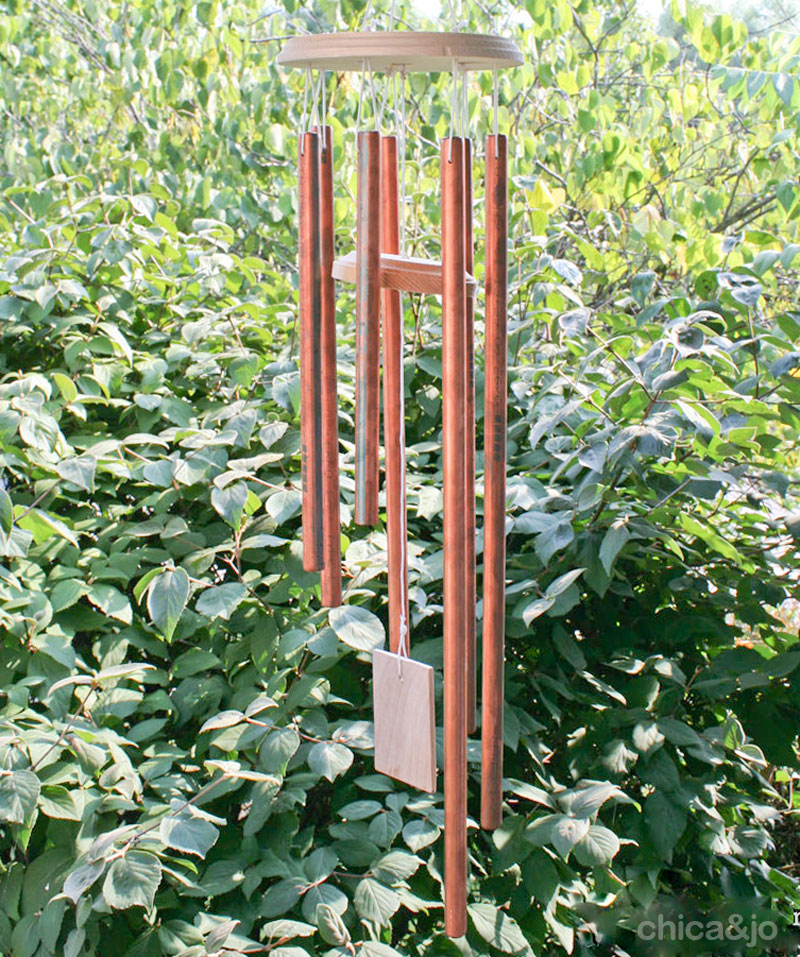 How To Make A Wind Chime Make Copper Wind Chimes Chica And Jo