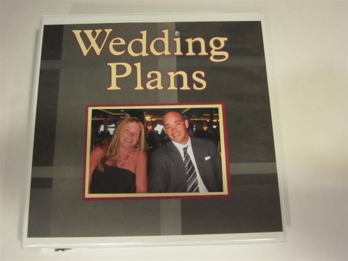 Wedding planner book