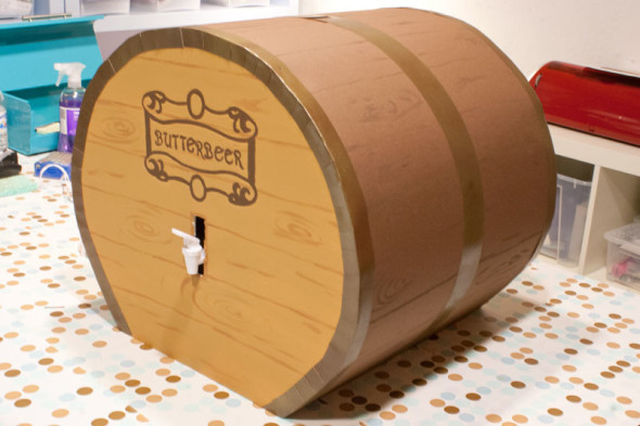 butterbeer dispenser barrel