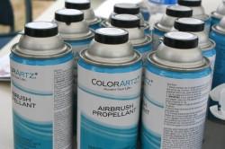 ColorArtz airbrush pencils with glitter