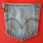 Jean pocket scrapbook