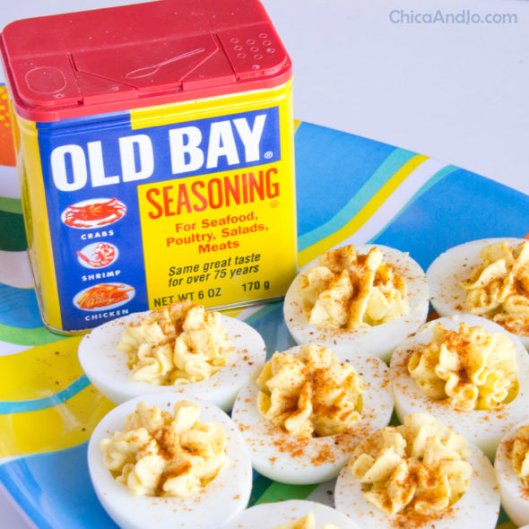 Old Bay Deviled Eggs Recipe Chica And Jo
