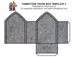 tombstone favor box download