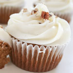 Pumpkin maple cupcakes
