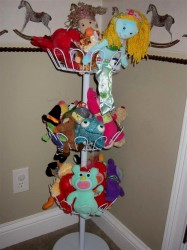 stuffed animal storage shoe rack